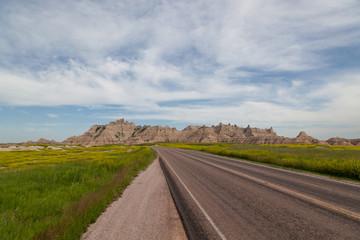 Road Through the Badlands
