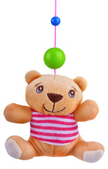 Toy pendant rattle
