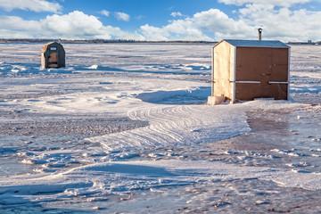 Ice Fishing Huts