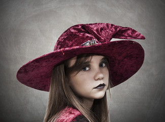 girl with hat halloween costume