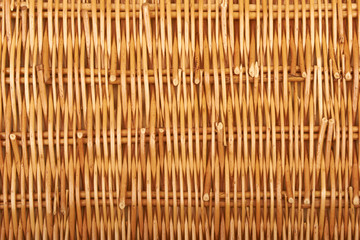 A natural basket textures background