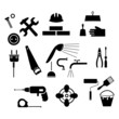 repair icons black