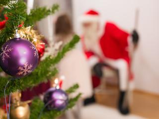 Santa in the house
