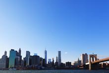 壁紙(ウォールミューラル) - マンハッタンとブルックリンブリッジ