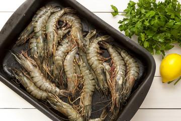 Pan Fry shrimps