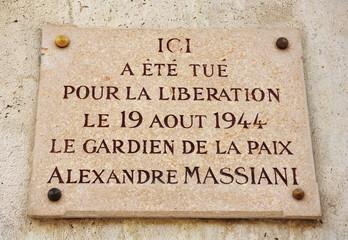 Liberación de París, Segunda Guerra Mundial, héroes