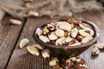 Portion of Brazil Nuts