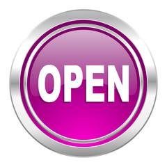 open violet icon
