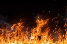 "Постер, картина, фотообои ""Beautiful stylish fire flames"""