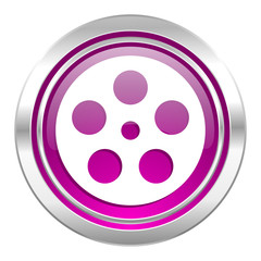 film violet icon