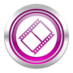 film violet icon movie sign cinema symbol