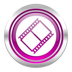 film violet icon movie sign cinema symbol