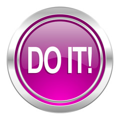 do it violet icon