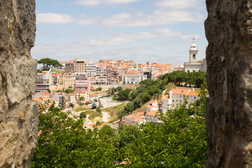 View of Lisbon from St. George's castle