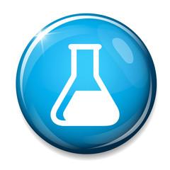 Chemistry sign icon. Lab icon.