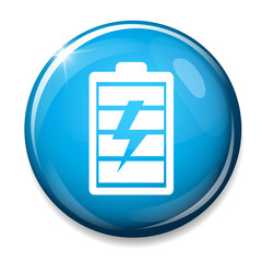 Battery sign icon.