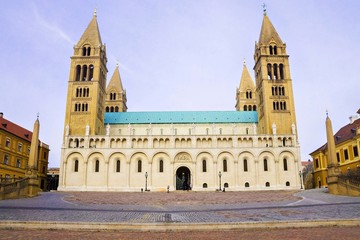 St Peter and St Paul Baisilica, Pecs, Hungary.