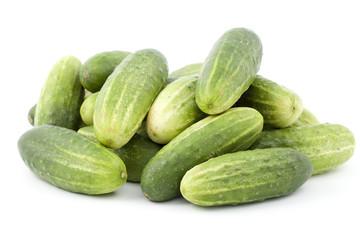 green cucumbers