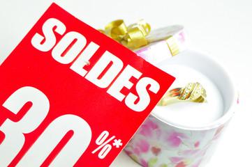 Soldes en bijouterie