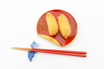 おいしそうな稲荷寿司