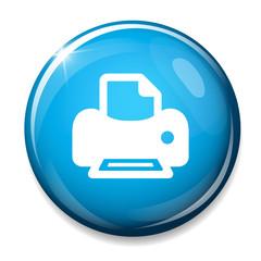 Print sign icon. Printing symbol. Print button