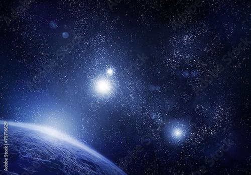 Fototapeta Planet and space