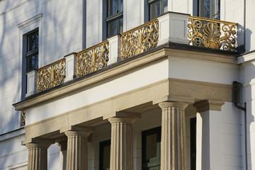 Jenisch-Haus-Balkon