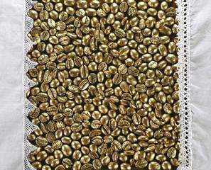 golden coffee