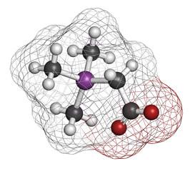 Arsenobetaine organoarsenic molecule.