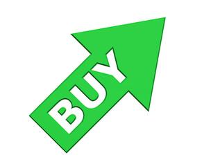 arrow with buy text