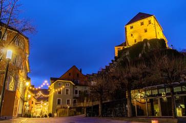 Schattenburg castle over Feldkirch - Austria
