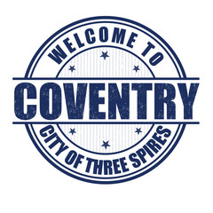 Welcome to Coventry stamp
