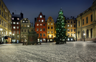 .Stortorget at Chritmas time