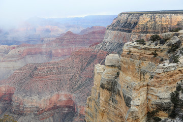 Low Cloud Cover, Grand Canyon National Park