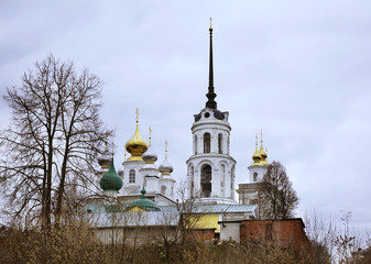 Resurrection Cathedral and Nicholas Cathedral in Shuya
