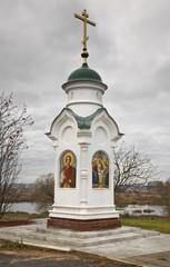 Trinity chapel in Shuya. Ivanovo region. Russia