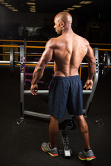 Muscular Fitness Man