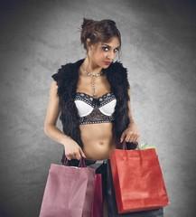 Stylish shopping