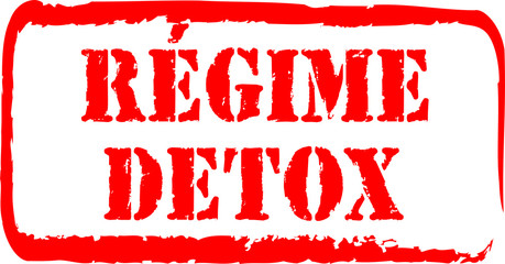 tampon régime detox
