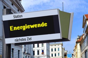 Anzeigetafel 7 - Energiewende