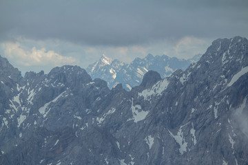 Zugspitze, german Alps