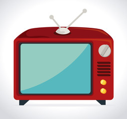 TV design, vector illustration.