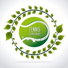 Tennis design, vector illustration.