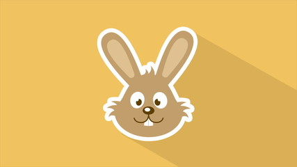 Happy rabbit, Video Animation, HD 1080
