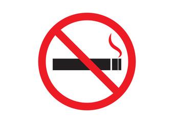 No smoking sign design