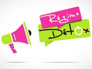 mégaphone : régime détox
