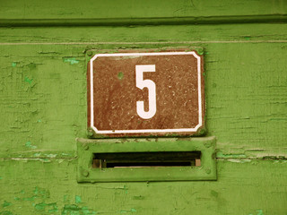 House Number Five