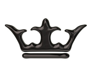 Black crown icon
