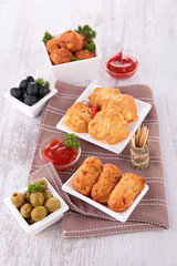 assortment of tapas
