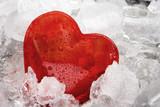 Fototapety Herz im Eis